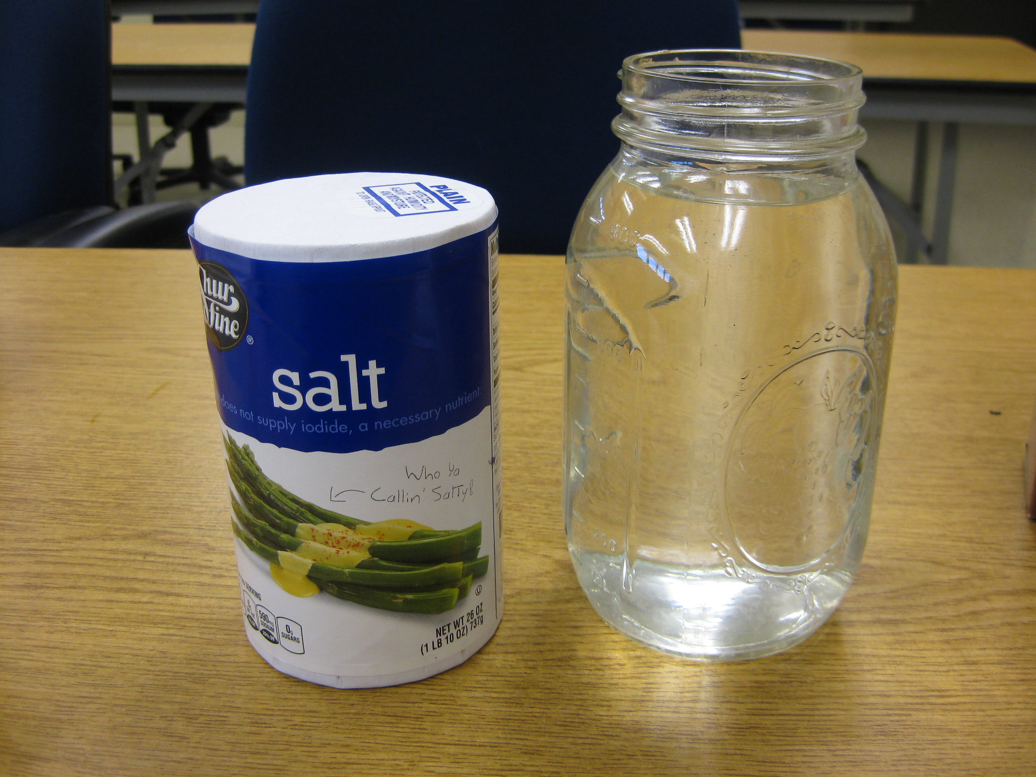determining iodide content of salt Iodised salt (also spelled iodized  an opened package of table salt with iodide may rapidly lose its iodine content through the process of oxidation and iodine.